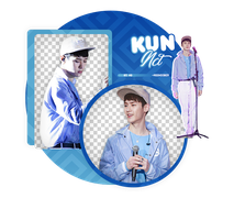 KUN//NCT-PNGPACK #1 by MoonSober