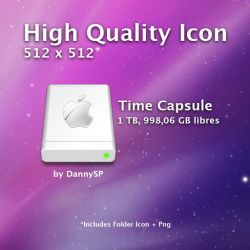 Time Capsule Airport Disk by DannySP