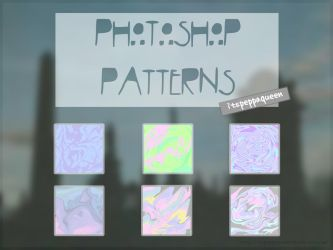 Photoshop Patterns // Holograms // Tumblr [1] by itspeppaqueen