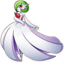 [Pokemon] Mega Gardevoir by chemicaRouge