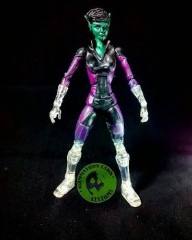 Skrull girl custom by Argahal