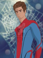 Andrew Garfield meet's Disney by Hyung86