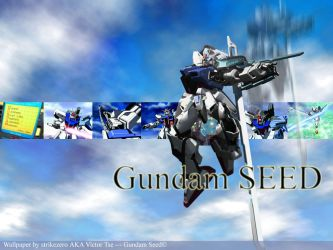 Gundam SEED - Sword Strike by strikezero