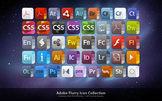 Adobe Flurry Icon Collection by Fel1x