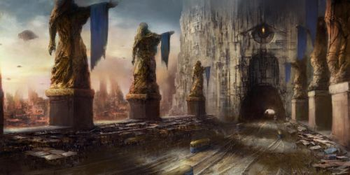 The Golden City. TIME WEAVER: THE TIME COLLECTOR by JacintaMaree
