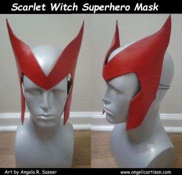 Scarlet Witch Headpiece by Angelic-Artisan
