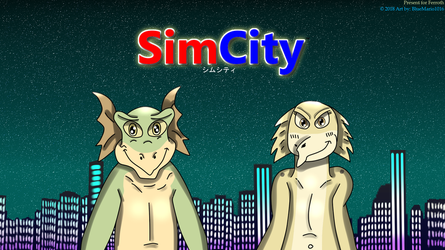 A special take on SimCity by BlueMario1016