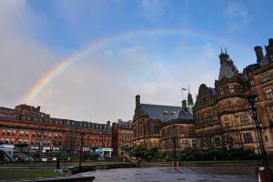 Rainbow in Sheffield by WillTC