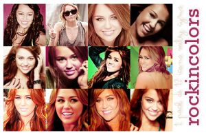 12 icons Miley Cyrus by rockincolors
