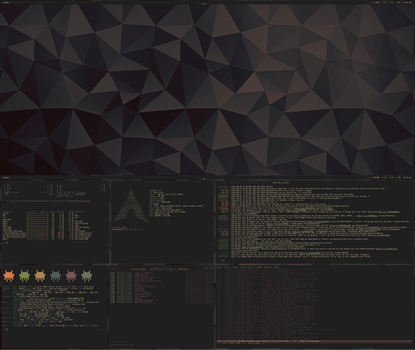 [arch] [bspwm] Desktop Feb 2015 by f-s0ciety