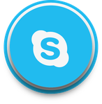 Buttons Skype by WisdomX