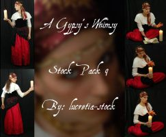 a gypsy's whimsy stock pack 9 by lucretia-stock