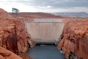Lake Powell Dam by SaldaeanFarmgirl