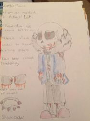 Zombie!Sans :) by miller7751