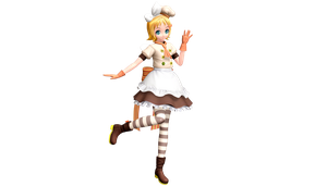 Project Diva Future Tone Magic Chef Rin by WeFede
