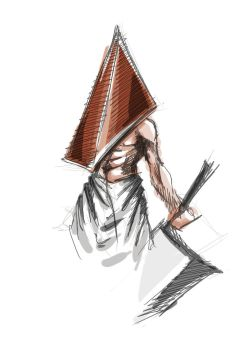 Pyramid Head by Zelditaa