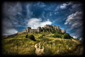 The Spis Castle II. by shadowiness