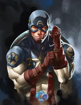 Avengers: Captain America by dr-conz