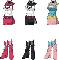 Duel Academy Uniforms Part 2 by Lyra-Elante