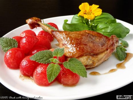 Duck with honey and melon by PaSt1978
