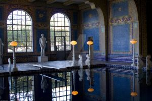 Roman Pool at Hearst Castle by pinguino