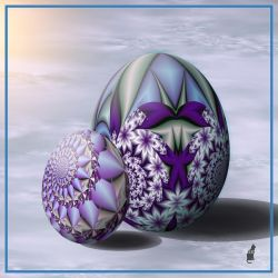 Fractal eggs by theaver