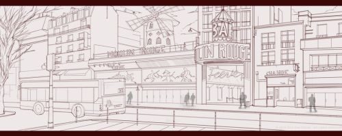 MulinRouge Sketch by JexicaL