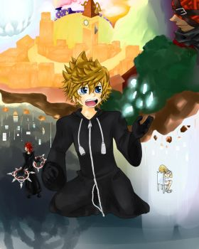 Goodbye, Roxas by Clover-Cat4