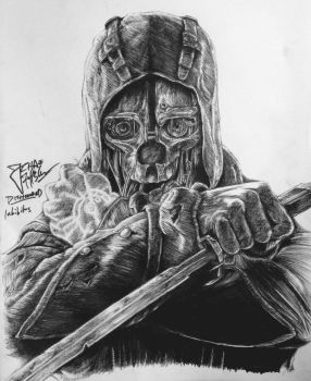 Drawing Corvos mask  Dishonored nekoyasha15 Loading Unsubscribe from nekoyasha15  How to Get Better at Drawing 10 Things that Worked for Me  Duration 2040