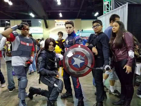Team Cap assemble by Santy-Orm