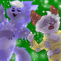 Look the stars! - Collab - by CakeShakeLove