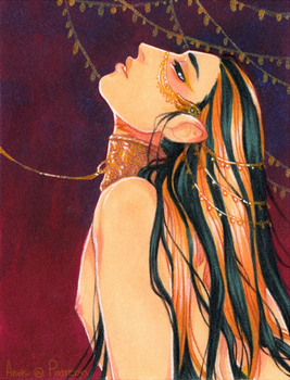 Gilded Pet ACEO by Anoki-Doll