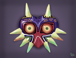 Majora Mask by CC3TheArtist