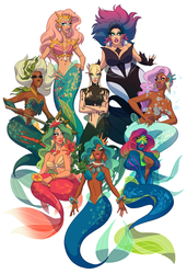 Drag Daughters of Triton, vol. 2 by shoomlah