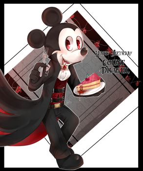 Happy Birthday Count Dragul  by riukime