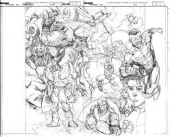 INVINCIBLE HARD COVER 8 pencils by RyanOttley