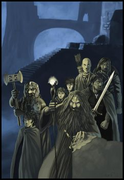 The Fellowship of the Ring by Flavio77