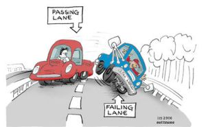 The Truth about Passing Lanes by sethness