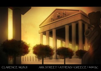 Ark Street | Athens | Greece - Street Design by Clarencezer
