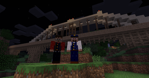 CG Server Selfie by Minecraftrailroader