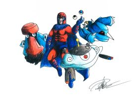 Marvel x Pokemon (Magneto)