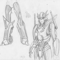 Elita Revamp sketches by korblborp
