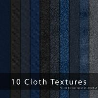 Freebie: Cloth Tecture Pack by emperorwarion