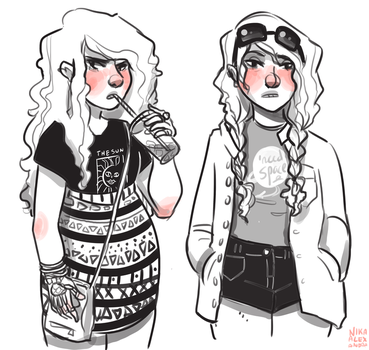 Outfits p2 by nikaalexandra