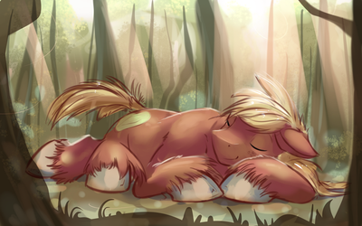 Sleeping Mac - Forest by GSphere