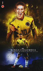 yerry mina jems roudriguez wallpaper lockscreen by 10mohamedmahmoud