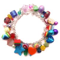 Rainbow Charm Bracelet 5 by fairy-cakes