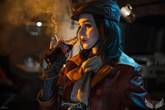 Fallout 4 cosplay - Piper and Nuka Cola by ver1sa