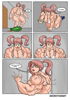 Muscle growth commission part 5 by NeroScottKennedy