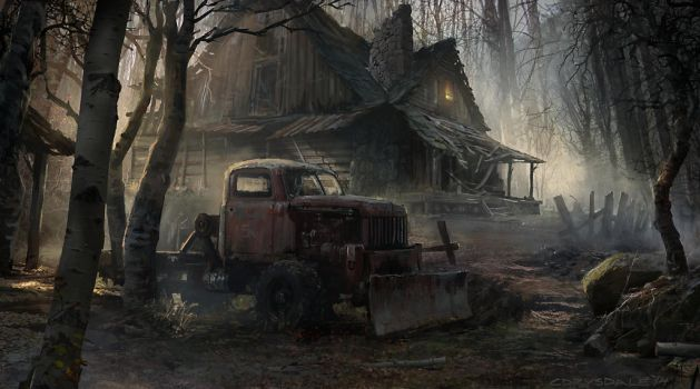 Creepy Cabin by Spex84